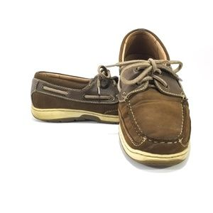 Nunn Bush Outrigger Boat Shoes Loafers Slip Ons-